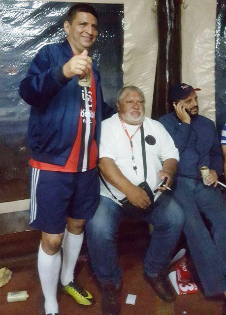 Fotos: dos Jogos de Confraternização entre Advogados, na Arena Triple C, em Pedro Juan Caballero.