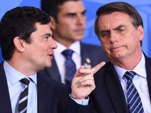 O ministro da Justiça e Segurança Pública Sérgio Moro e BolsonaroFoto: Reprodução-Web