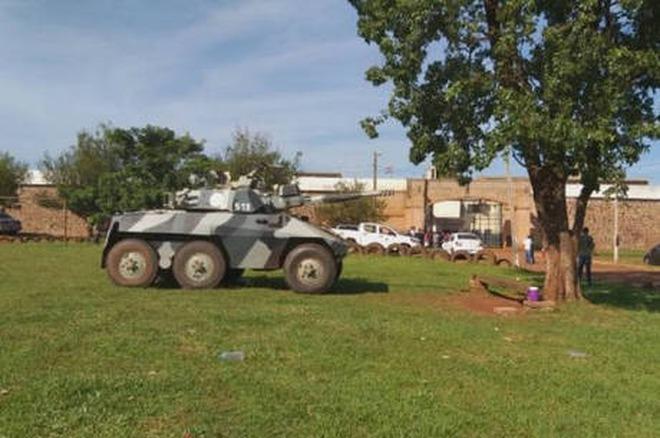 Segurança em presídios foi reforçada Ministério do Interior do Paraguai / Divulgação
