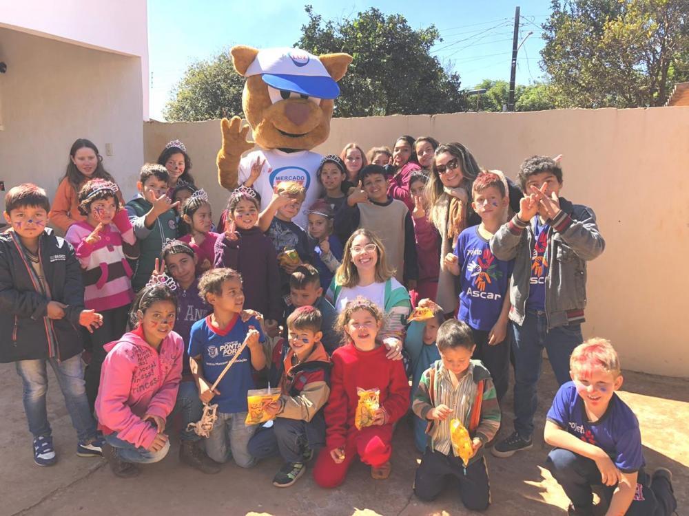 ASCAR atende crianças com atividades, recreações e principalmente, cidadania