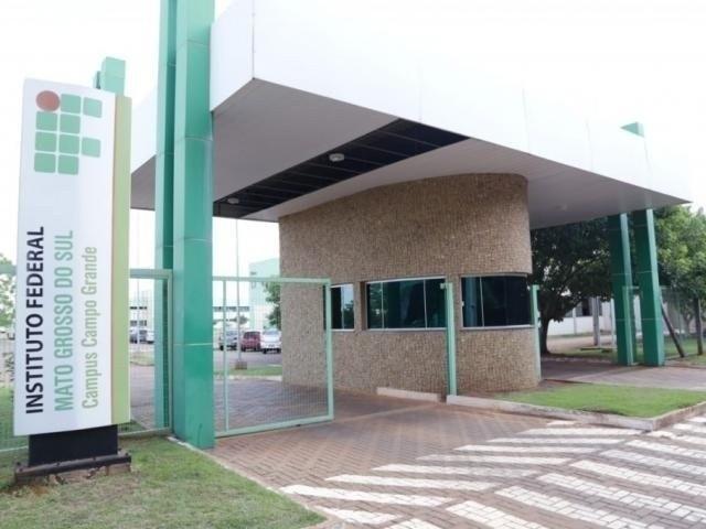 Entrada do campus do IFMS em Campo Grande (Foto: Divulgação)