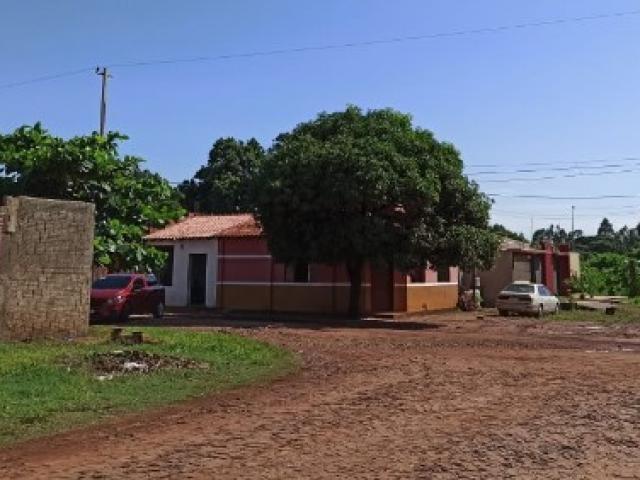 Frente da casa onde Léo Veras morava na fronteira (Foto: Angelina Nunes/Abraji)