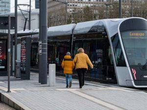Bonde em Luxemburgo. Gratuidade só vai afetar 8% do orçamento de transportes no paísFoto: DW / Deutsche Welle