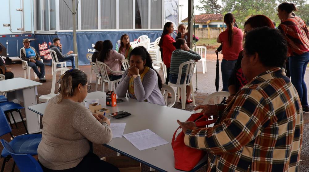 Nova Itamarati volta a receber ação social