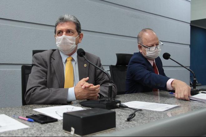 Presidente da Câmara Municipal da Capital, João Rocha - Izaias Medeiros/Câmara Municipal