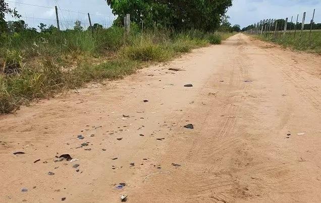 Acidente ocorreu em estrada rural de Três Lagoas (Foto: Rádio Caçula)