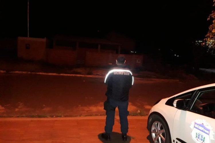 Casa é vigida pela Guarda Civil. (Foto:Divulgação).