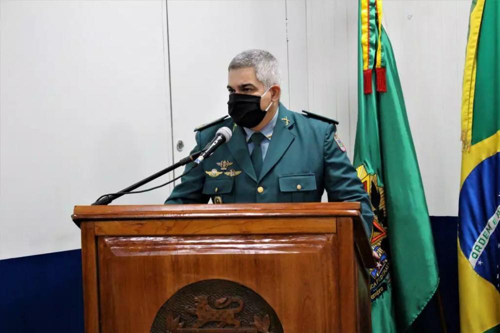 Novo comandante da PM, coronel Marcos Paulo Gimenez fará mudanças na corporação. (Foto: Divulgação/PM)