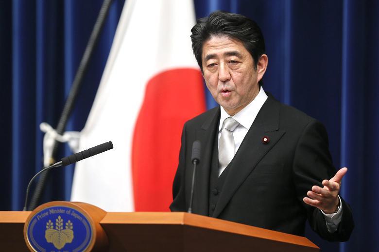 O primeiro-ministro do Japão, Shinzo Abe (Foto: reprodução)