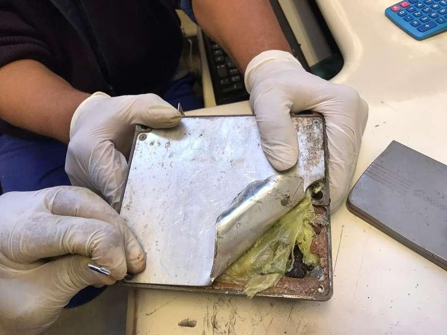 As drogas foram avaliadas em R$ 200 mil e estavam escondidas no interior de peças automotivas e em uma caixa de som e lacradas para evitar o forte cheio - Foto: Divulgação/Assessoria
