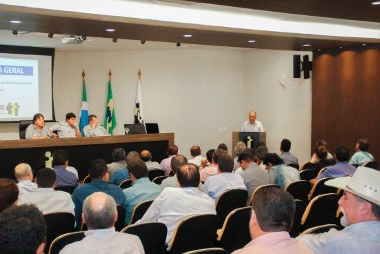 Plenário da Assomasul. Foto: Ilustrativa/ Edson Ribeiro.