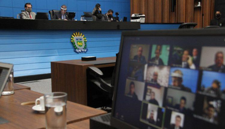 Debate aconteceu em sessão remota desta terça-feira (7). (Luciana Nassar, Alems)