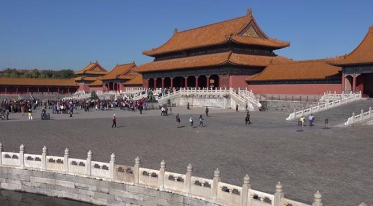 Cidade Proibida em Pequim, China. (Foto: reprodução)