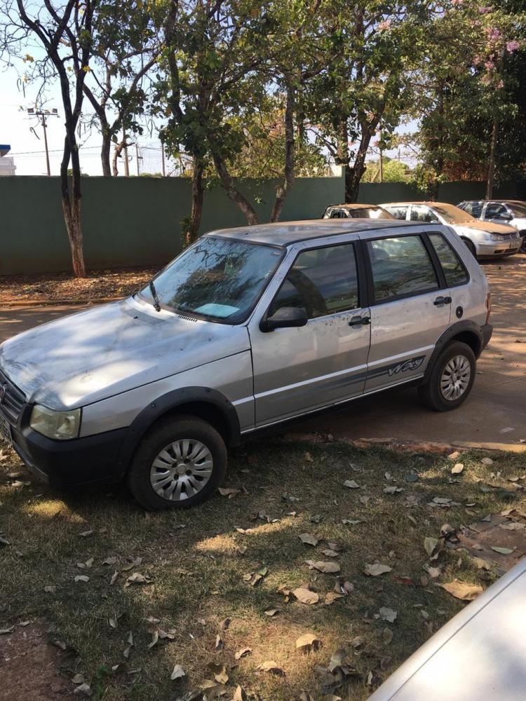Veículo do idoso foi roubado e depois abandonado pelas criminosas, em Três Lagoas (MS) — Foto: Polícia Civil/Reprodução
