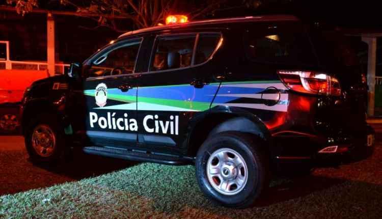 Polícia Civil esteve no local. Imagem: Divulgação.