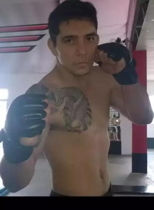 O ex-lutador de MMA, Wagner Hematoma, assassinado a tiros de pistola 9 milímetros (Foto/Reprodução)