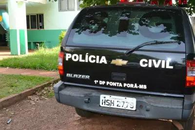 Flagrante de tráfico foi registrado na 1ª DP de Ponta Porã (Foto/Arquivo)