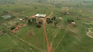 Fazenda Tranquerita, a 60 km de MS, de onde ex-vice-presidente foi sequestrado (Foto: ABC Color)