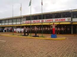 Colégio Militar em Campo Grande, durante formatura. (Foto: Arquivo Campo Grande/News)