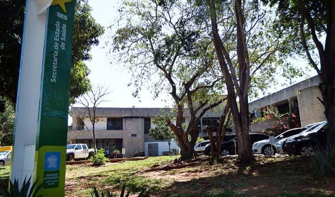 Sede da Secretaria de Estado de Saúde (Foto: Arquivo)