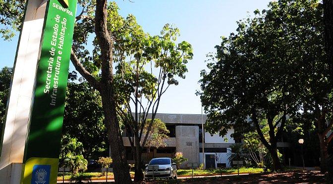 Agesul funciona no mesmo prédio da Seinfra (Edemir Rodrigues, Divulgação)
