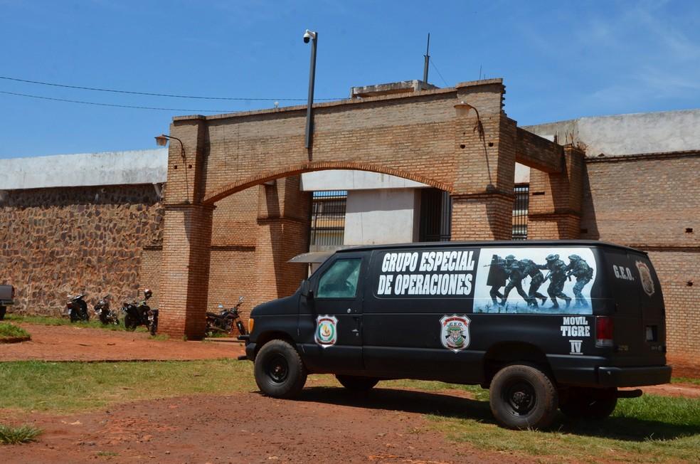 Presídio no Paraguai na fronteira com o Brasil em MS enfrenta surto de casos de Covid-19