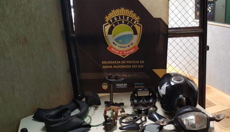 Algumas peças foram recuperadas e polícia busca por possíveis compradores. (Foto: Divulgação/ Polícia Civil)