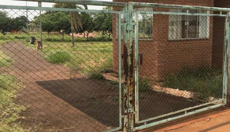 Parque Rego D'água, em Dourados, que continua fechado. (Foto: O Progresso)