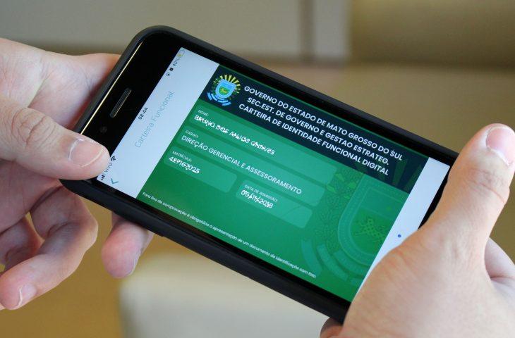 Baixar o holerite em PDF e emitir a carteira de identidade funcional estão entre novidades do MS Digital