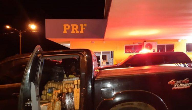 Veículo apreendido em ação policia. Foto: Divulgação