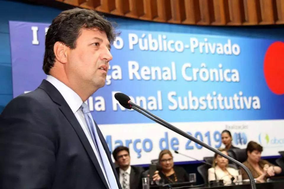 Ex-ministro da Saúde, Luiz Henrique Mandetta. (Foto: Reprodução/Facebook)