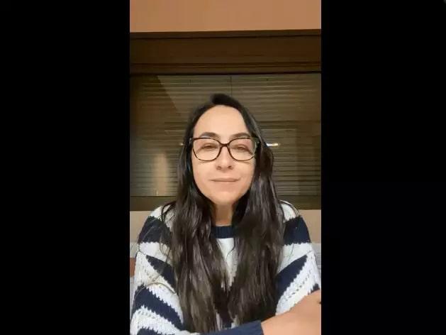 Raquel, em vídeo postado no Instagram, com as dicas finais antes do Enem (Foto/Reprodução)