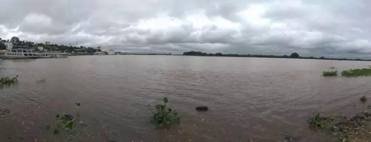 Após seca histórica, nível do Rio Paraguai volta a subir com a chegada da chuva