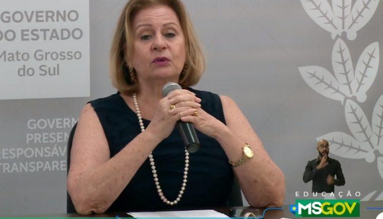 Secretária Cecília Mota. (Foto: Reprodução/Governo do Estado)