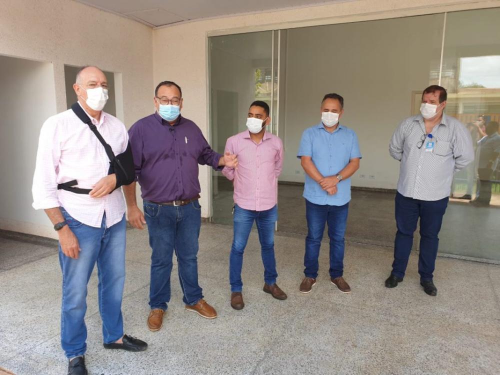 Prefeitos estiveram reunidos hoje em Ponta Porã buscando alternativas para o enfrentamento ao covid-19