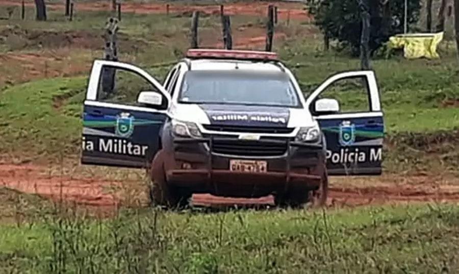 Polícia Militar esteve no local e encaminhou o autor para a Delegacia. (Foto: Noticidade)