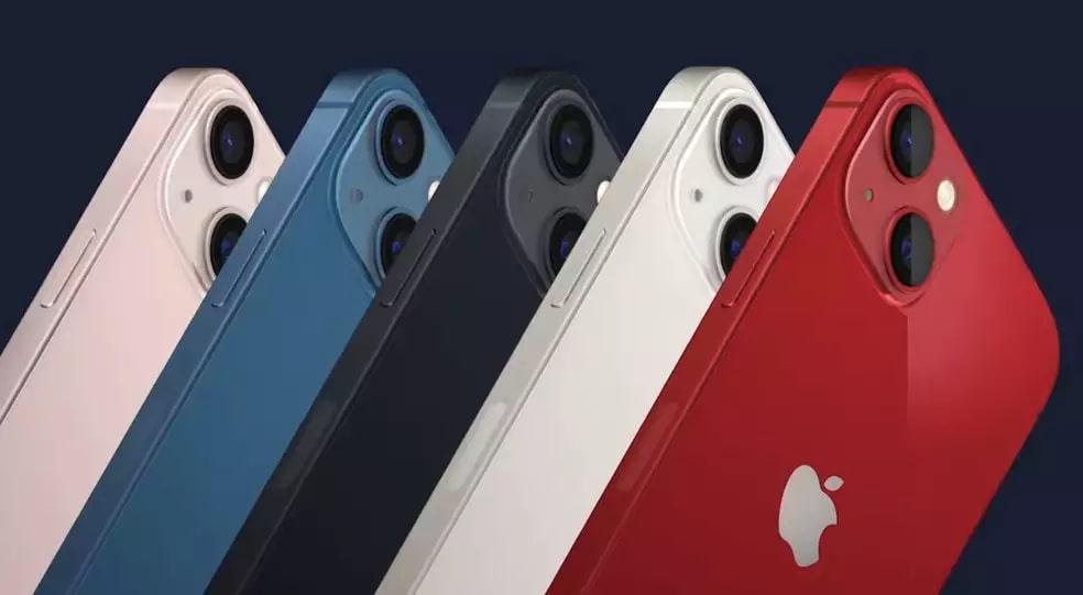 Cores do novo queridinho da Apple, o iPhone 13. (Foto: Reprodução/Apple)