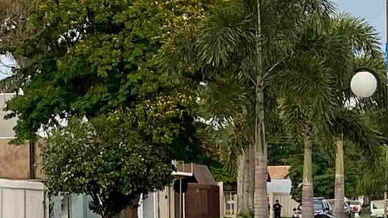 Agentes estiveram em uma residência na Rua Sérgio Luiz - Via WhatsApp