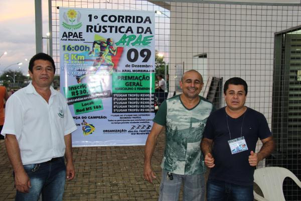 Inscrições abertas para a 1ª Corrida Rústica da APAE em Aral Moreira