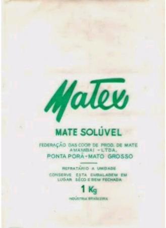 Creditos web imagens: Modelo de embalagem utilizada pela Matex Mate Solúvel de Ponta Porã MT.